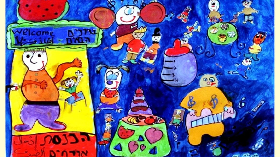 Israeli Kids Drawings Of Peace Come Home After World Tour Israel21c