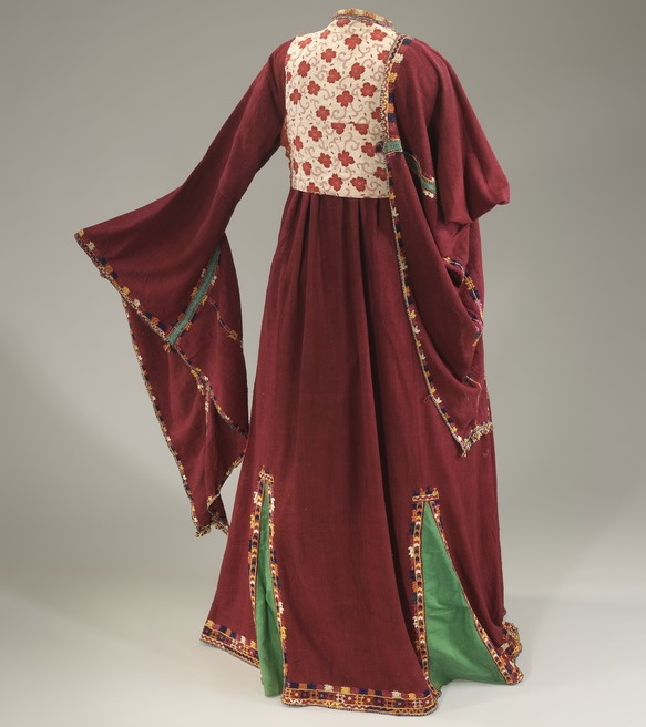 Wedding Dress With Winged Sleeves From Kurdistan Iraq Photo By Mauro Magliani Courtesy Of The Israel Museum Jerum
