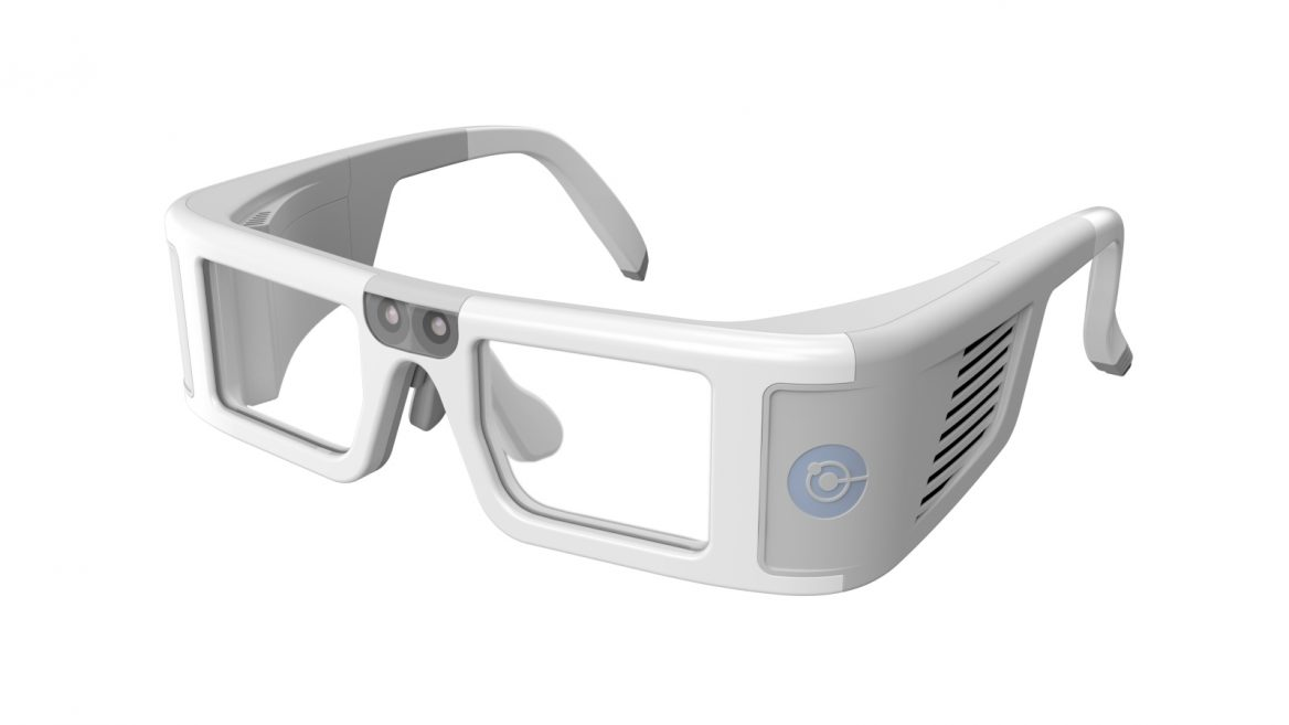 3933d7c48ef Orama digital eyeglasses use cutting-edge hardware and software to provide  clearer images for people with retinal damage. Photo  courtesy