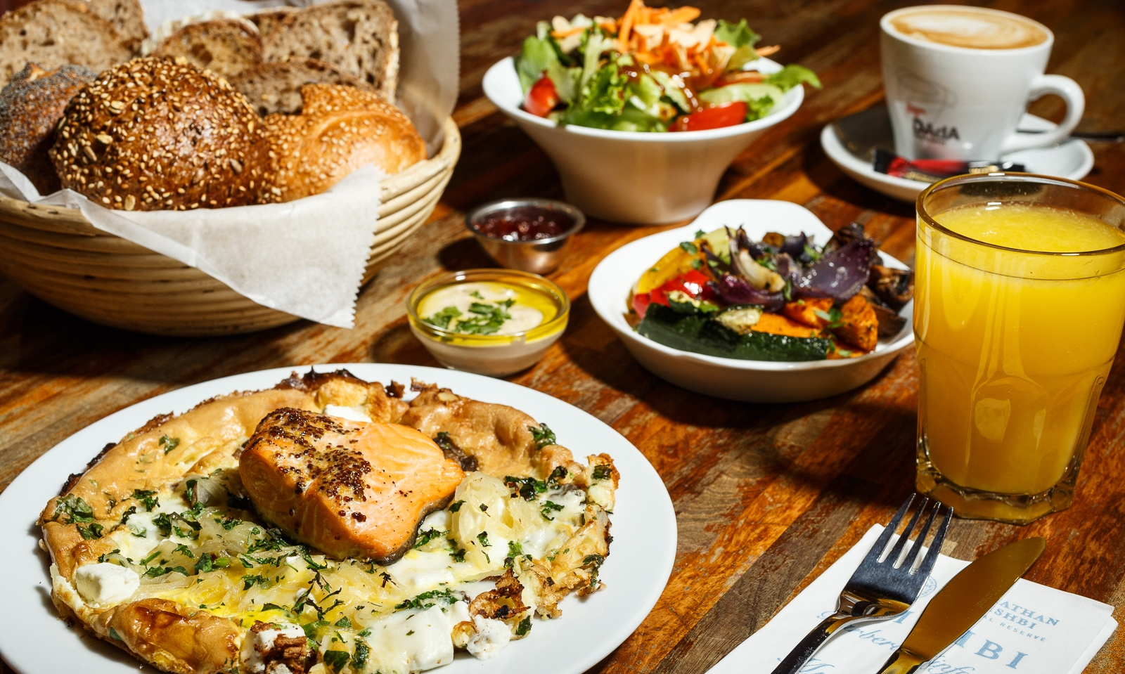 The best 14 places to enjoy that famous Israeli breakfast
