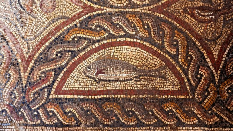 Image of: Murals Animal Figures Depicted In The New Mosaic Discovery Photo By Assaf Peretzisrael Antiquities Authority Israel21c 1700yearold Mosaic Discovered At Site Of New Mosaic Museum In Lod