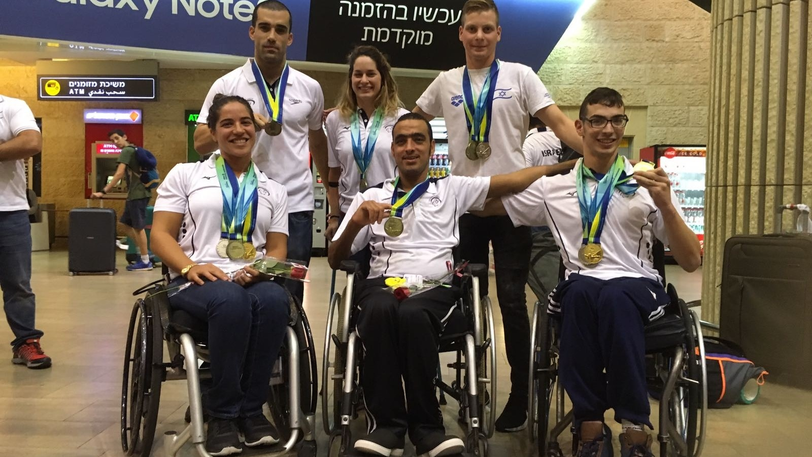 Israeli Paralympic swimmers win 3 gold, 4 silver, 5 bronze