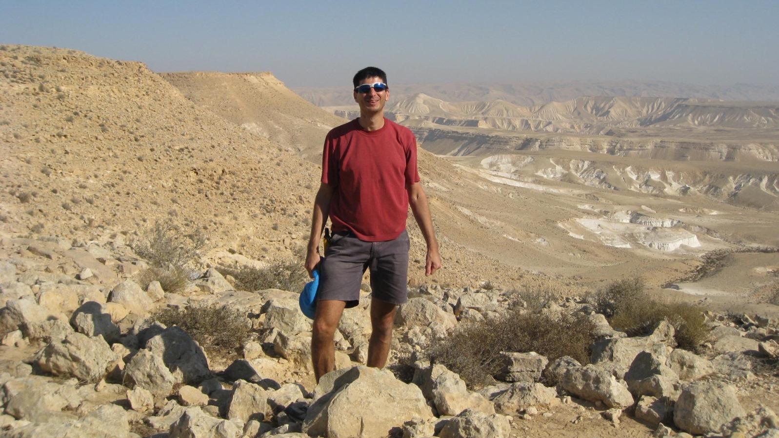 Eine neue Website für Wanderer in Israel