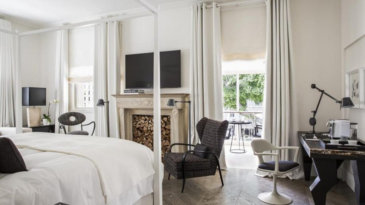 Rooms At The White Villa Boutique Hotel Feature Fireplaces Photo Courtesy