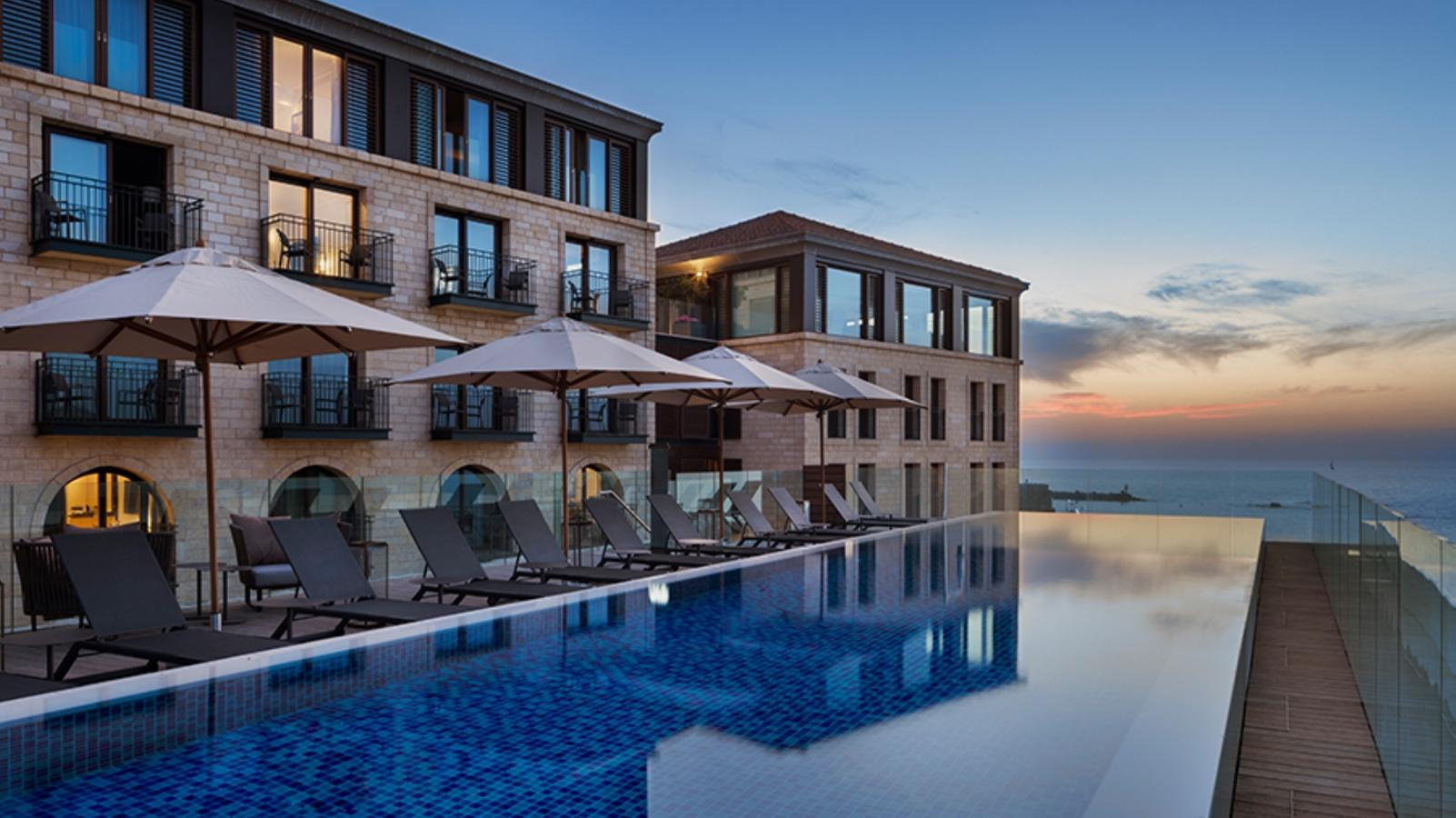 best new hotels in tel aviv for 2018 israel21c. Black Bedroom Furniture Sets. Home Design Ideas
