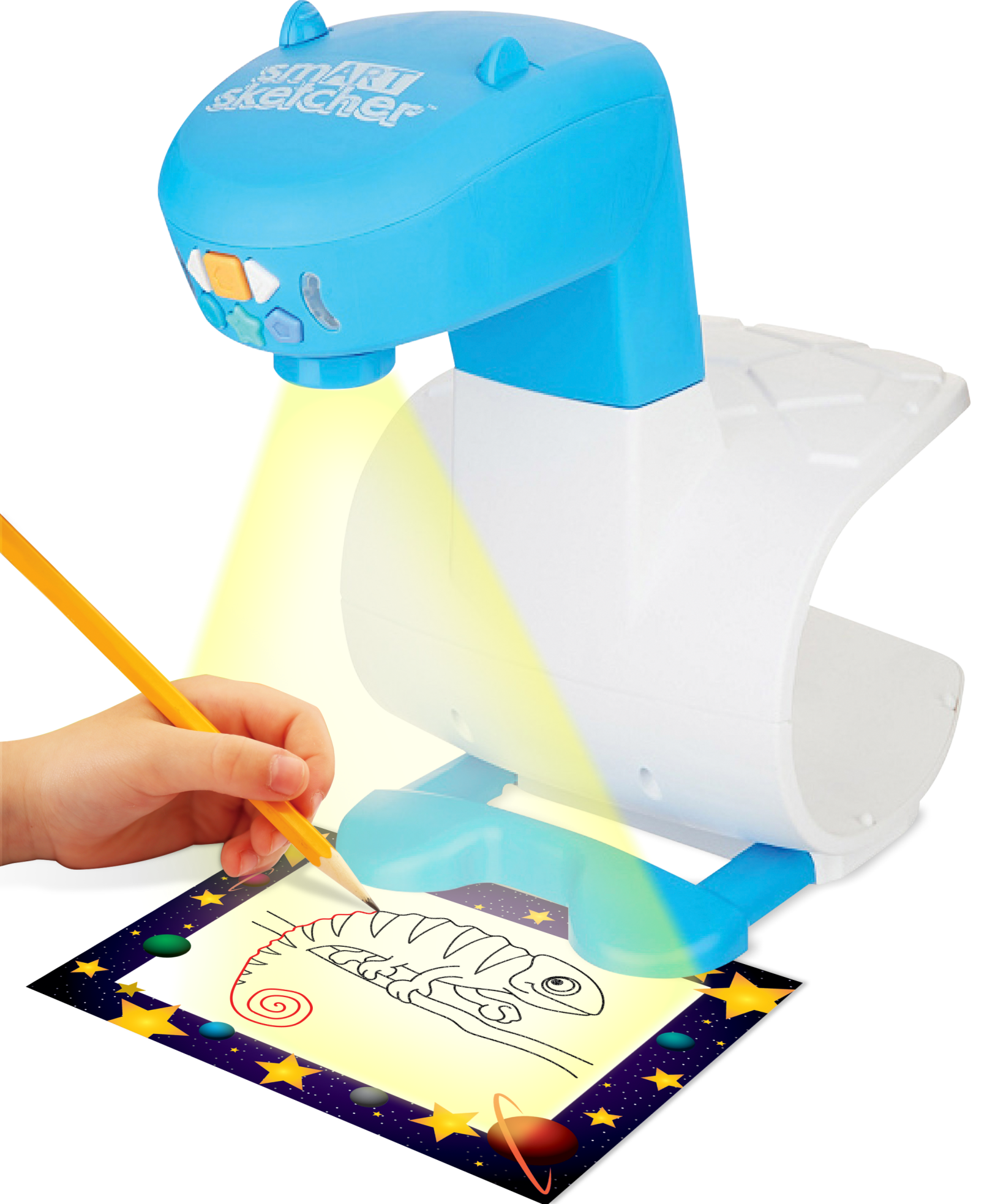 smART Sketcher guides kids in learning to draw and write. Photo: courtesy