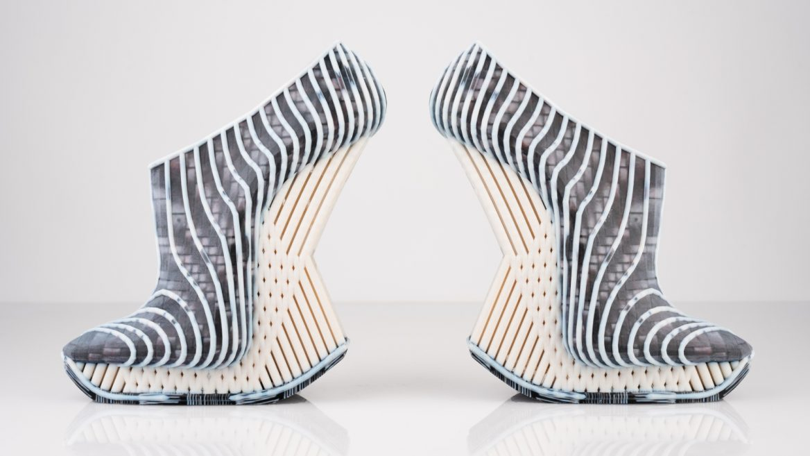 Israeli Designer S 3d Printed Shoes Outfits Go Global