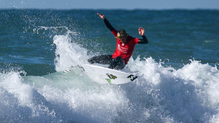 6daac4a7a4 American surfer Eithan Osborne won the 2019 SEAT Pro Netanya surfing  competition