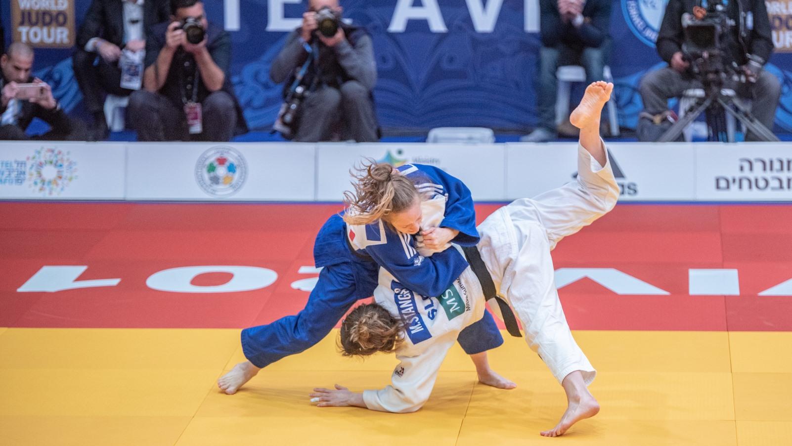 Israel hosts, and wins, international judo grand prix