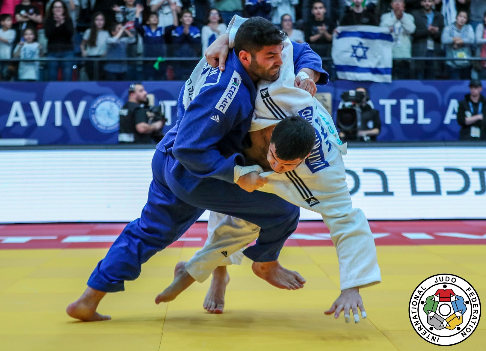 Israel hosts, and wins, international judo grand prix