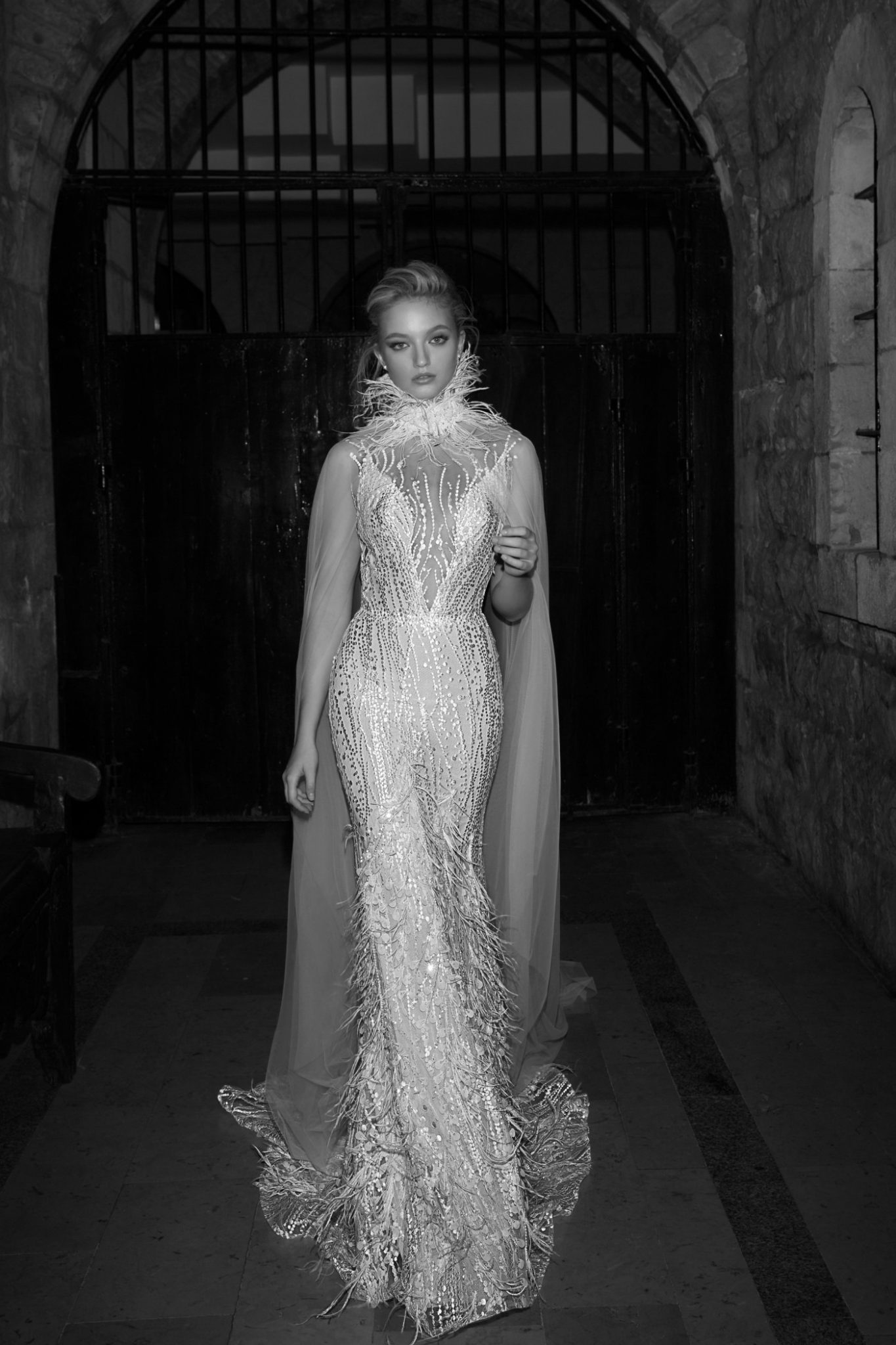 684fb73965f9f A stunning dress from Dany Mizrachi, one of Israel's top bridal fashion  designers. Photo