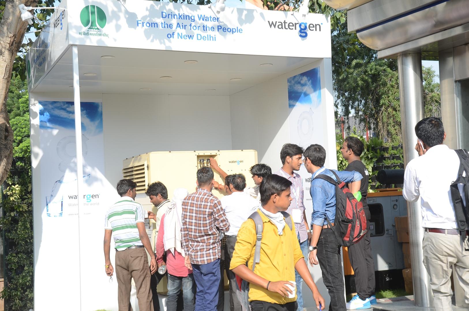 A Watergen unit in New Delhi. Photo: courtesy