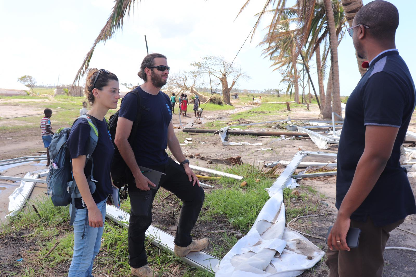 Israeli medics join relief workers as Mozambique crisis
