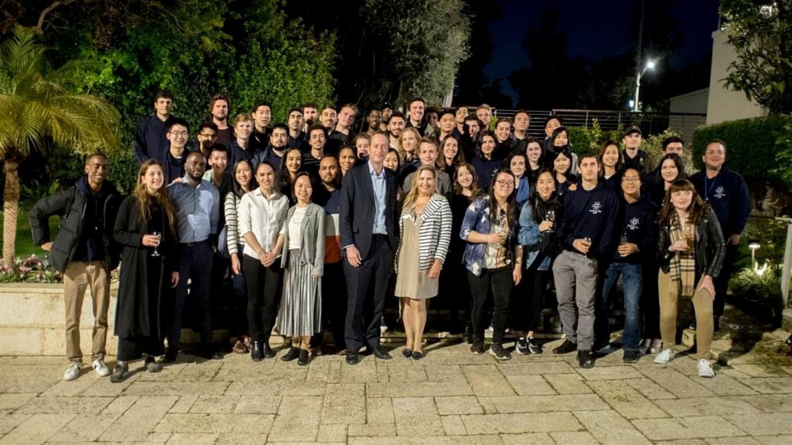 Israel Tech Trip mit Studenten aus 30 Ländern