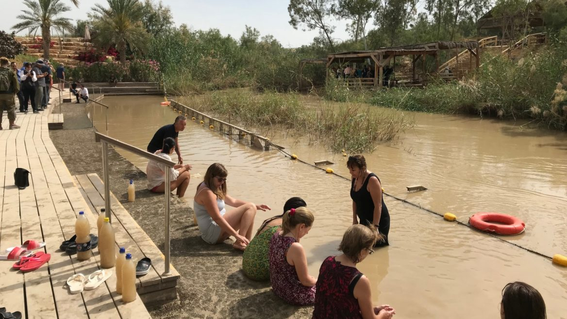 Passover, Easter visitors flock to historic Jordan River
