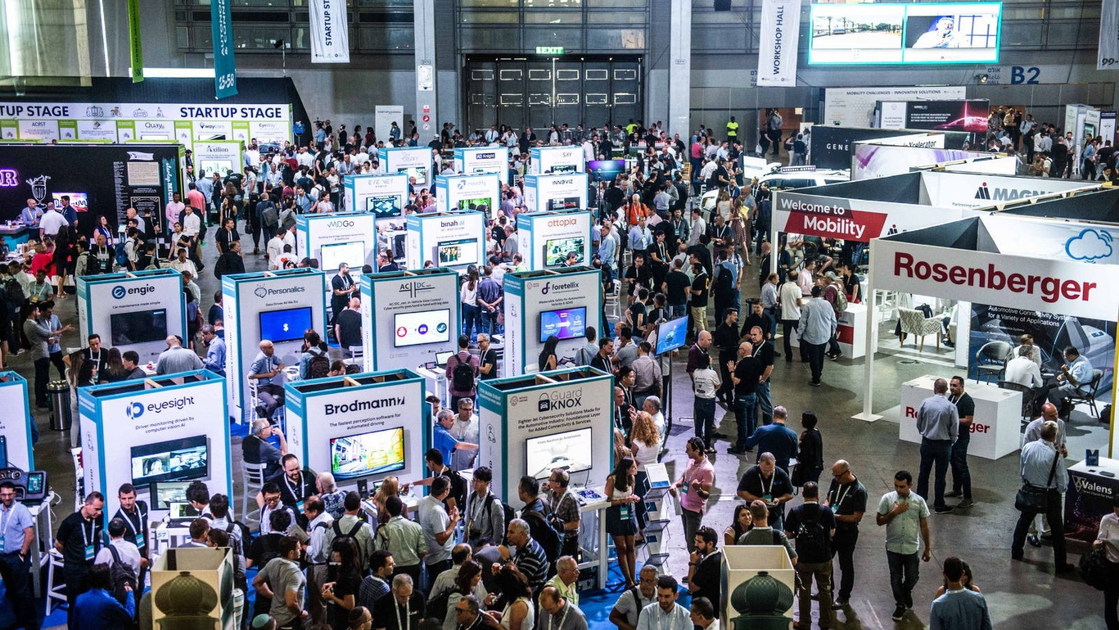 13 of the best auto-tech startups at Israel's Ecomotion conference