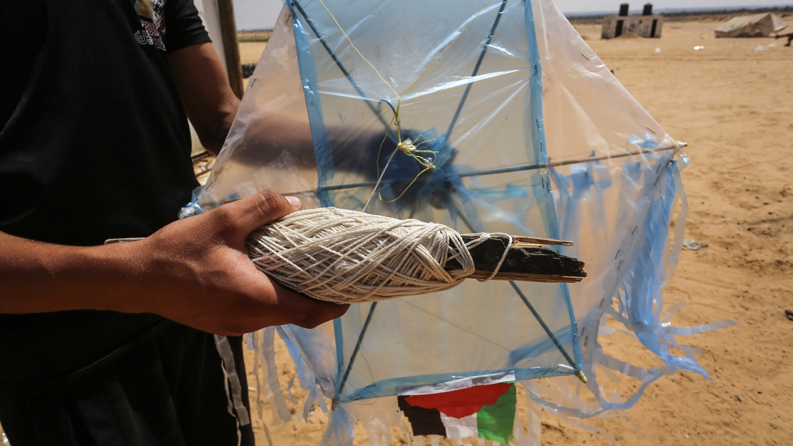 Could racing drones be the answer to the fire-kite threat?