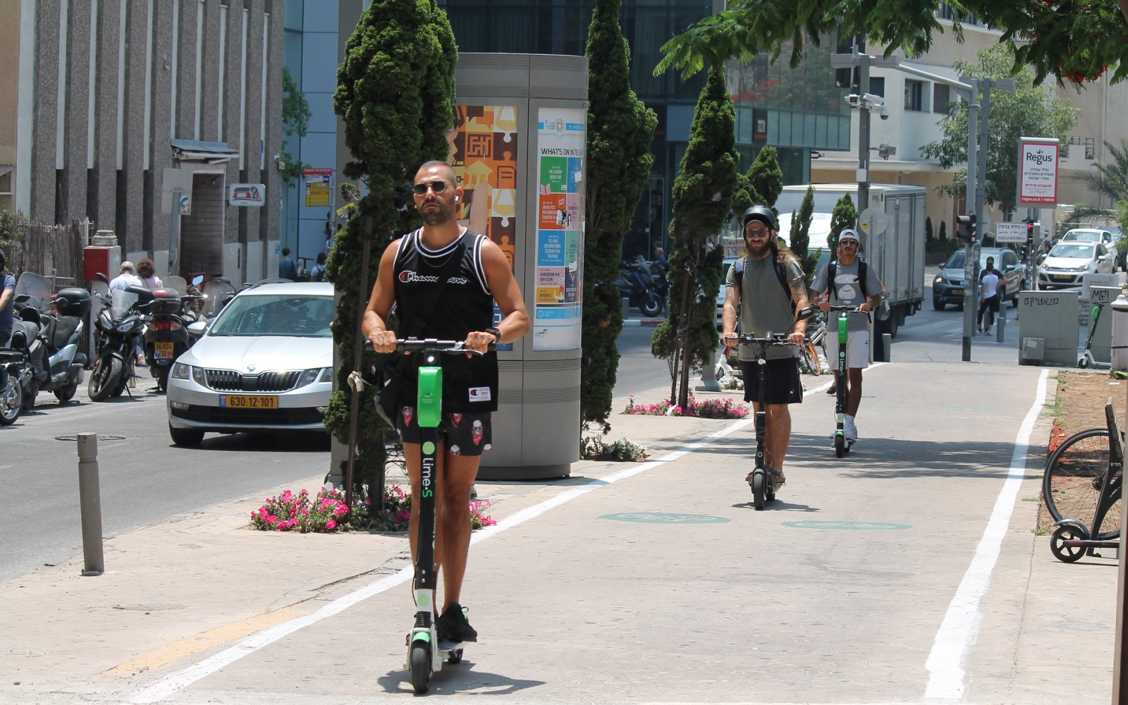 Tel Aviv's scooter craze, explained by the guy behind it - ISRAEL21c