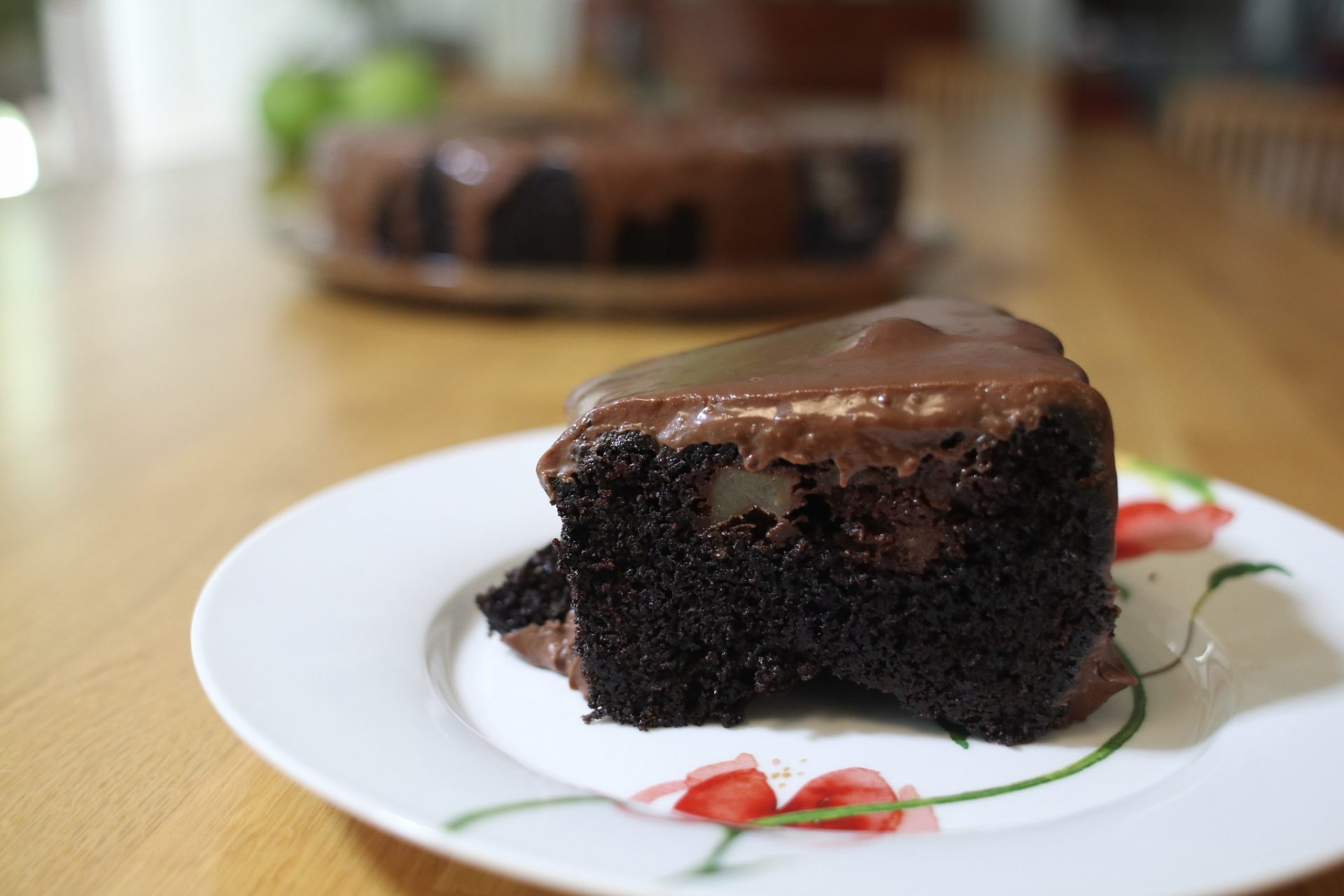Make a fabulous chocolate apple cake and win a trip to Israel