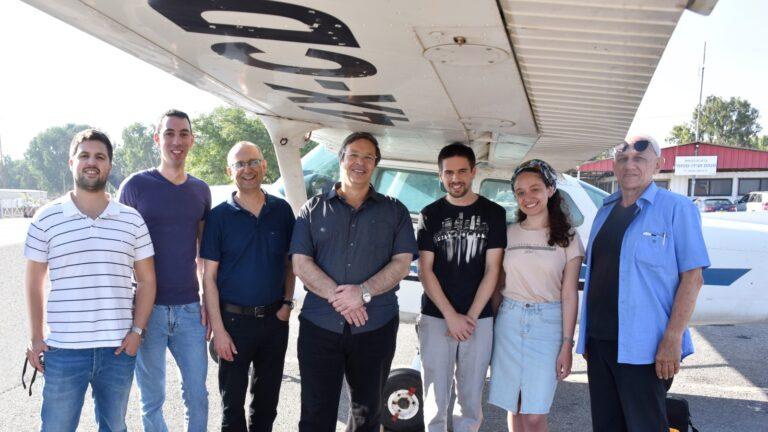 Наука и технологии: израильский алгоритм  помогает безопасной посадке в случае отказа двигателя самолета