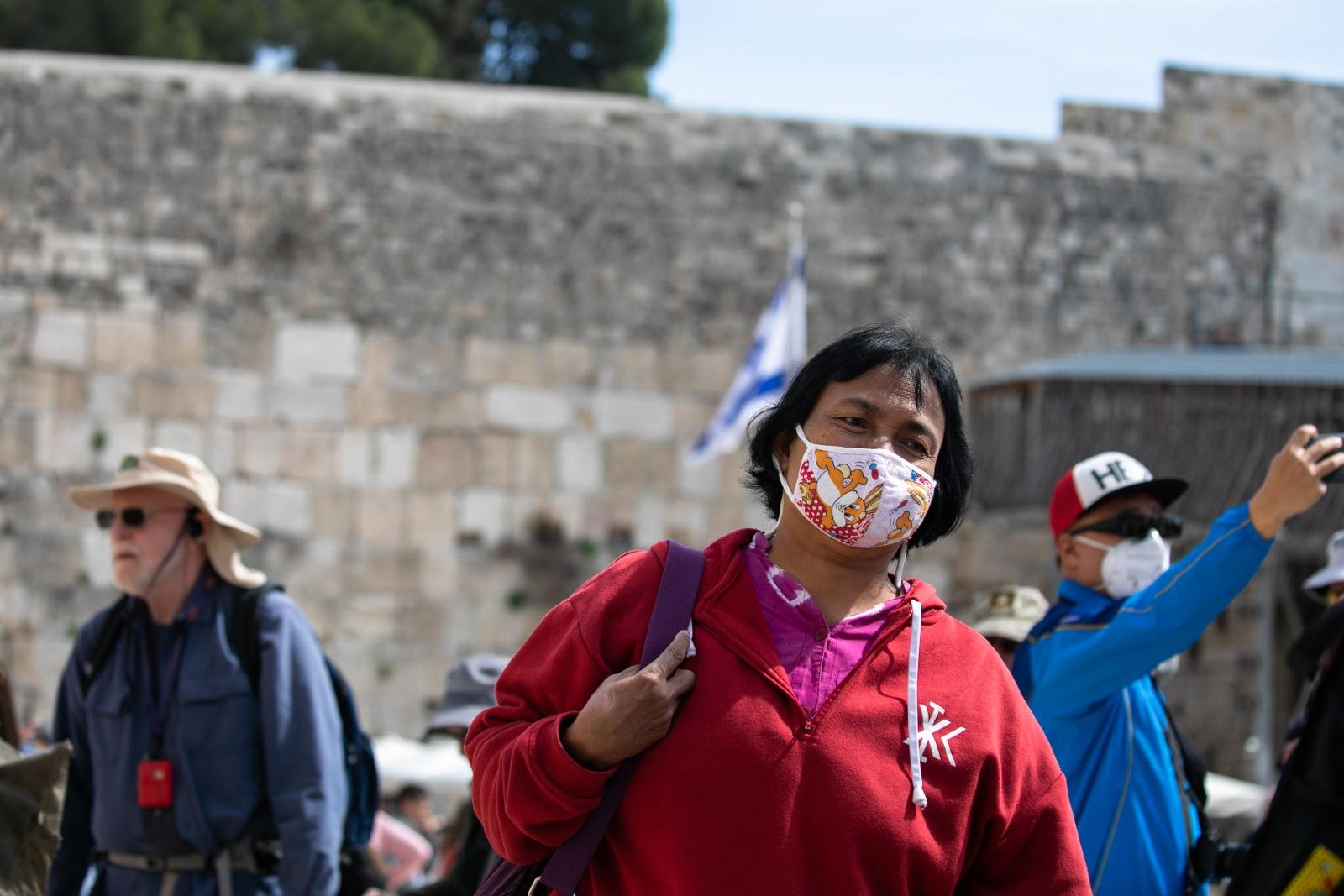 Israel confronta el coronavirus con innovación y chutzpah - f90 touristmasks