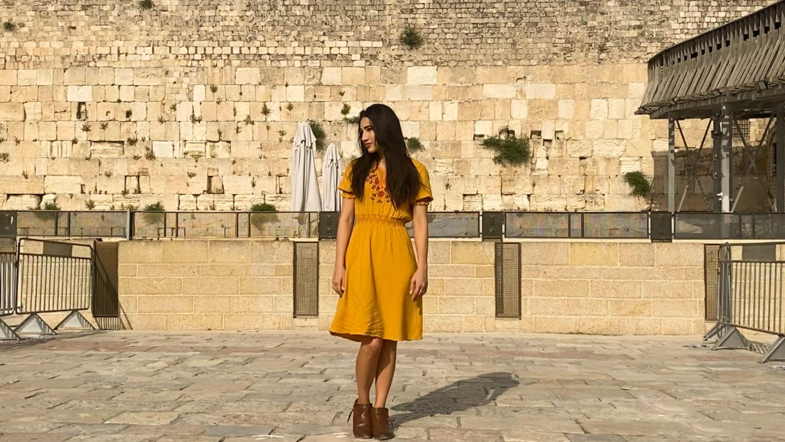 A vlogger named India whose passion is Israel