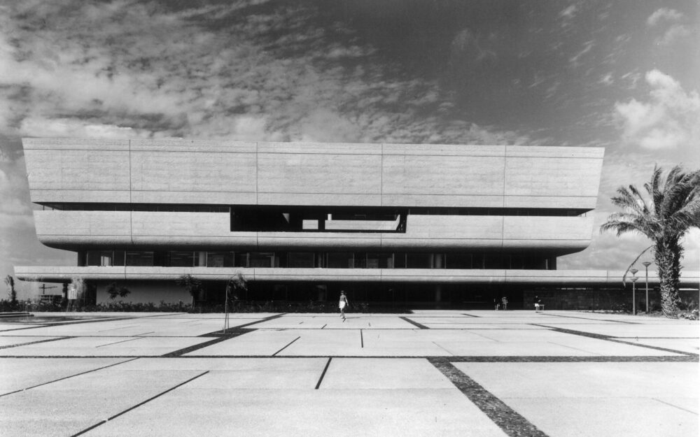 The Tel Aviv Museum of Art is a prime example of Brutalist architecture in the city. (Ran Erde/Dan Eitan Collection)
