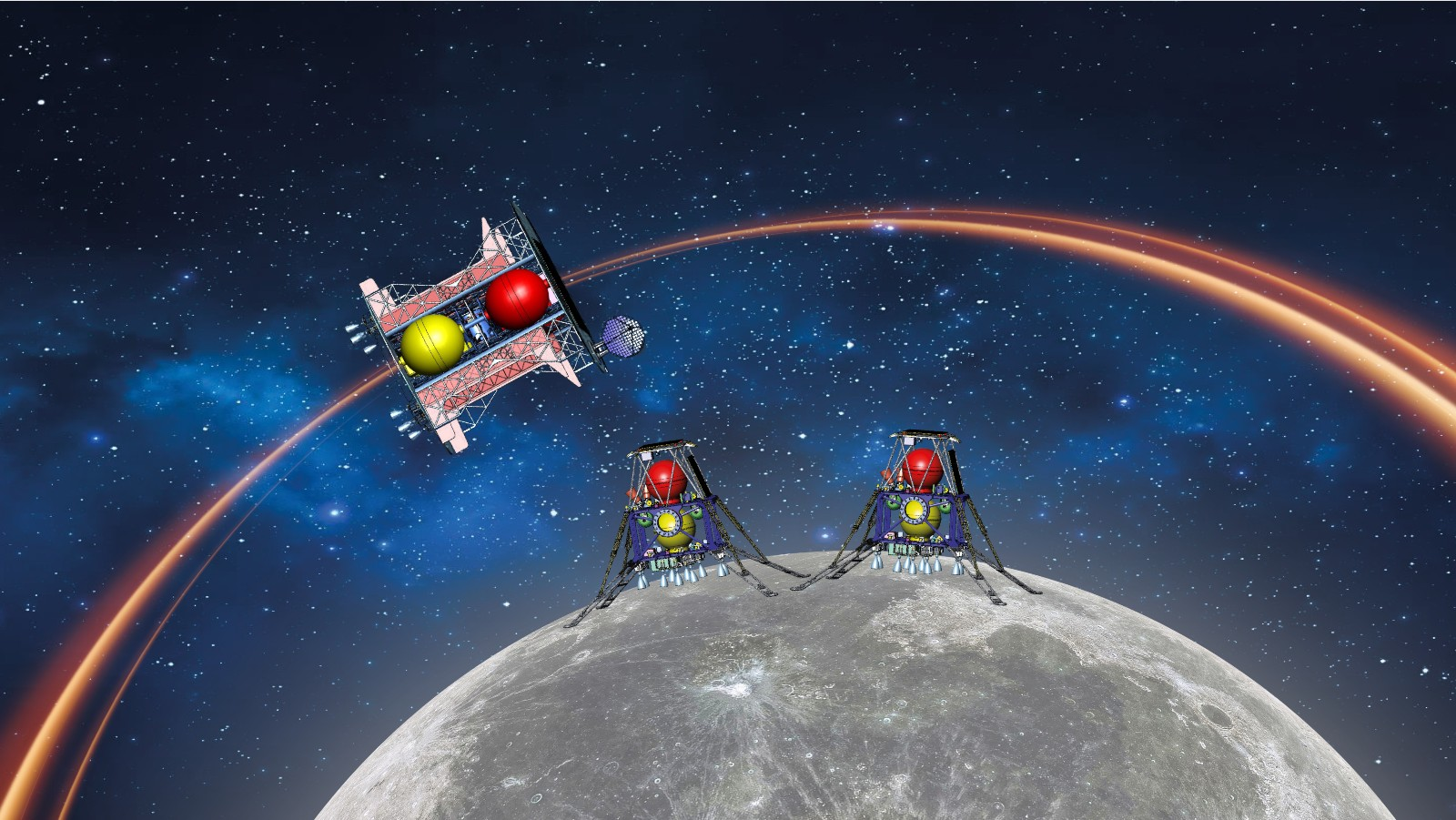 Israel and UAE plan to fly to the Moon together