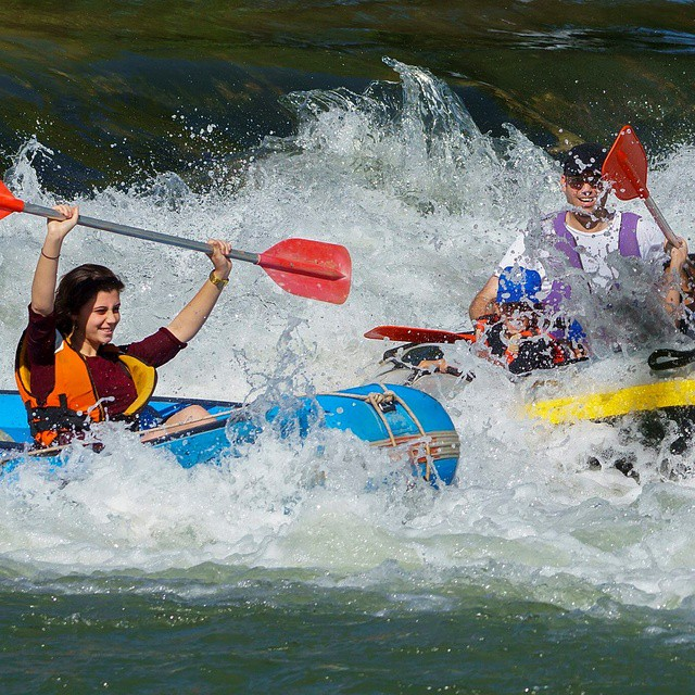 Nothing quite like Israel in the summertime! #Summer #Rafting #Adventure #ISRAEL21c.  by #Flash90
