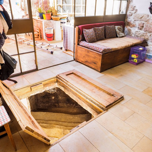 In Jerusalem, basic home renovations uncovered a 2,000 year old ritual bath. #Ancient #History #RitualBath  by: Assaf Peretz