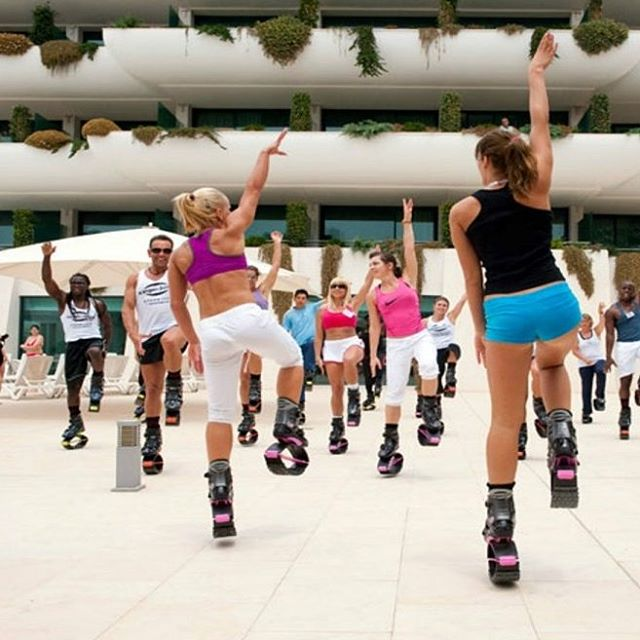 Technology and fitness have merged to create a unique workout that has Israelis jumping for joy. Israel has stormed right into the Kangoo Jumps craze!