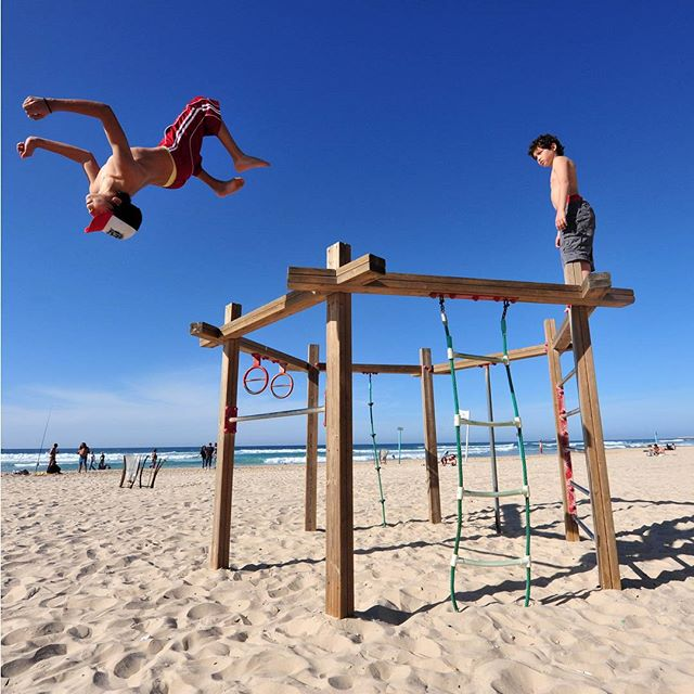 Israeli kids are always flying high. #Summer #Beach #FunInTheSun #ISRAEL21c  by Shutterstock