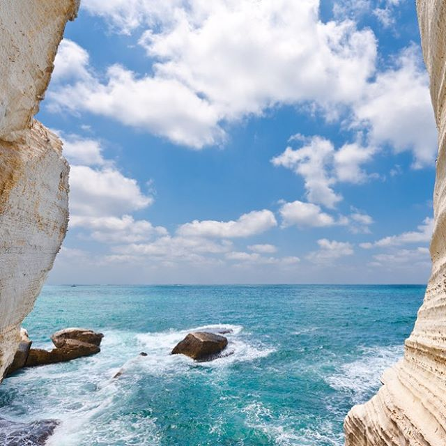 There\'s nothing like the waterways and caves of Rosh Hanikra. #Israel #Mediterranean #RoshHanikra