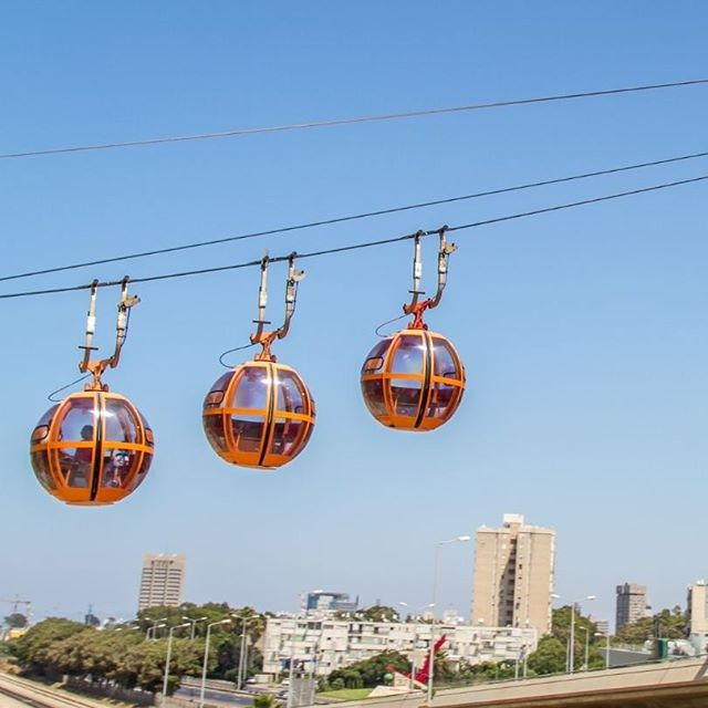 Haifa\'s pod cable cars are a site to see!
