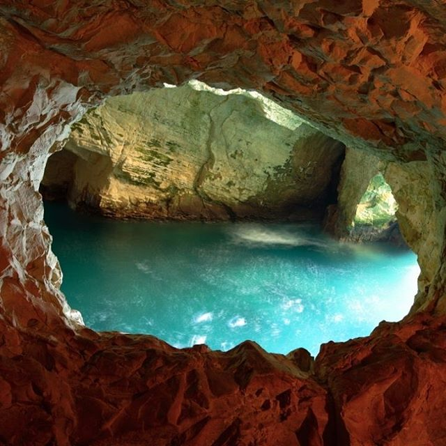 Israel\'s water-filled caves at Rosh Hanikra are a must-see for any visitor to #Israel.