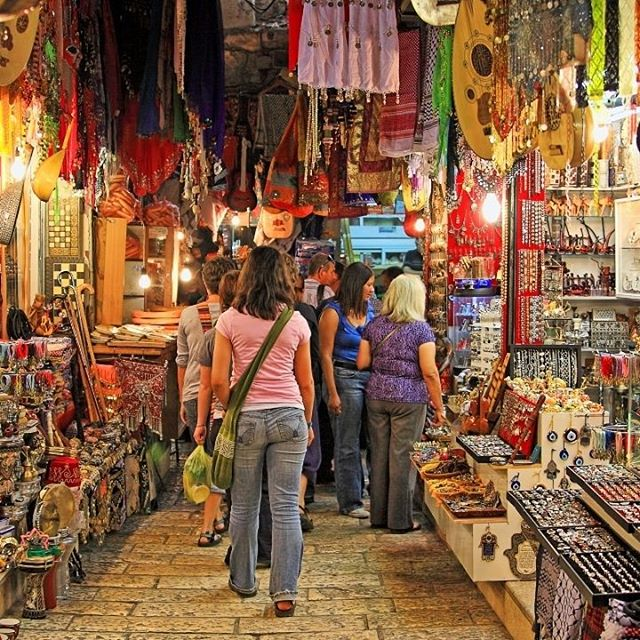 Jerusalem\'s Old City marketplace is the one-stop-shop for anything you could need. #Jerusalem