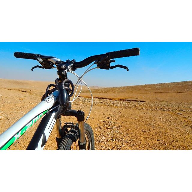 Biking in the #JudeanDesert  Photo Credit: Daniel Santa Cruz.