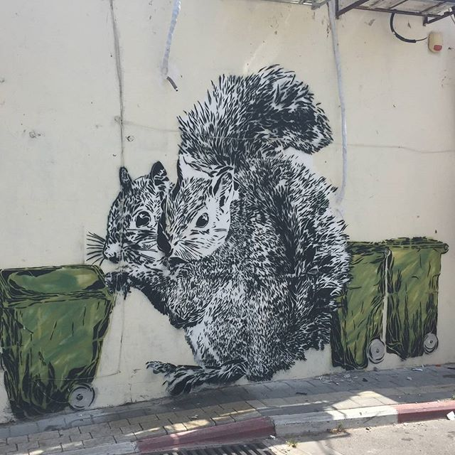 #StreetArt in #NeveTzedek #Israel Photo credit: Nicky Blackburn