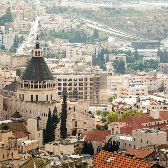 Basilica of Annunciation in #Nazareth, #Israel.