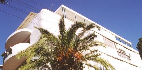 A Bauhaus building on Yael Street