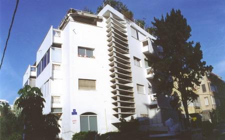 Bauhaus style on Frug Street