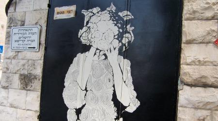 Cabbage head art