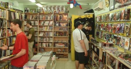 Comics N' Vegetables store