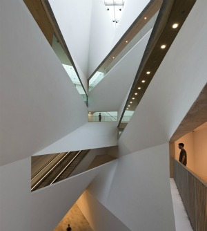Inside the new wing