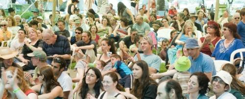 Jacob's Ladder Festival audience