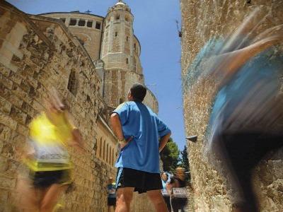 Jerusalem half marathon streets