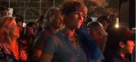 Jerusalem Woodstock Revival revelers