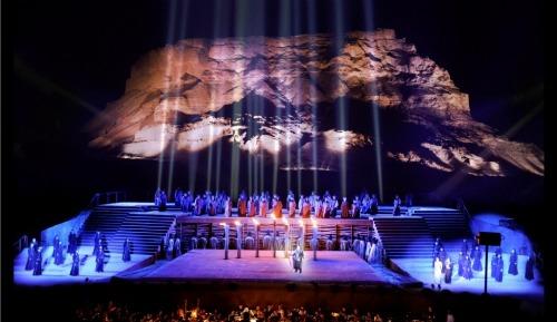 Opera at Masada