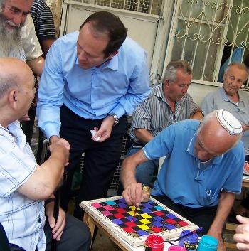 Jerusalem Mayor Nir Barkat