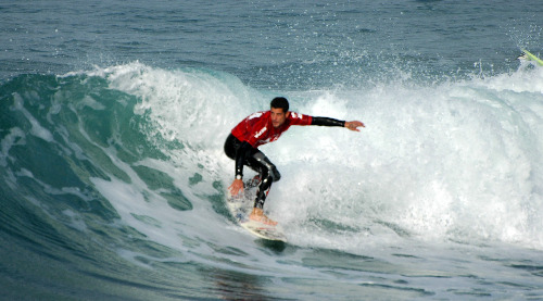 Surfing in Haifa